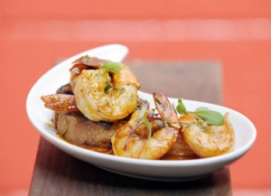 Garlic Shrimp Thailand