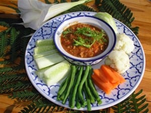 Pork and Tomato Chilies Dip Thailand